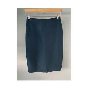 Emerald Calvin Klein Collection Pencil Skirt